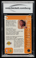 Kobe Bryant 1996-97 Upper Deck Rookie Exclusives #R10 (BCCG 10) at PristineAuction.com