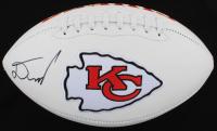 Damien Williams Signed Chiefs Logo Football (JSA COA) at PristineAuction.com