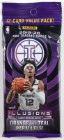 2019-20 Panini Illusions Basketball Cello Pack with (12) Cards at PristineAuction.com