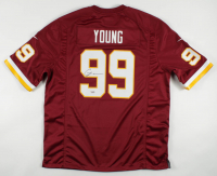 Chase Young Signed Washington Nike Jersey (Fanatics Hologram) at PristineAuction.com