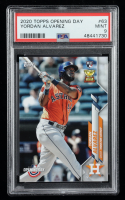 Yordan Alvarez 2020 Topps Opening Day #63 RC (PSA 9) at PristineAuction.com