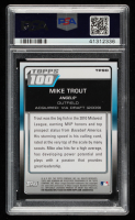 Mike Trout 2011 Bowman Topps 100 #TP90 (PSA 9) at PristineAuction.com