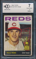 Pete Rose 1964 Topps #125 (BCCG 7) at PristineAuction.com