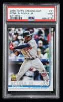 Ronald Acuna Jr. 2019 Topps Opening Day #51 (PSA 9) at PristineAuction.com