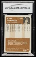 Ryne Sandberg 1983 Fleer #507 RC (BCCG 10) at PristineAuction.com