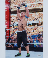 John Cena Signed WWE 10x12 Photo (Beckett COA) (See Description) at PristineAuction.com
