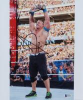 John Cena Signed WWE 10x12 Photo (Beckett COA) (See Description) at PristineAuction.com
