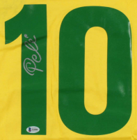 Pele Signed Soccer Jersey (Beckett COA) at PristineAuction.com