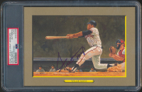 Willie Mays Signed LE 1985-97 Perez-Steele Great Moments #65 Card (PSA Encapsulated) at PristineAuction.com
