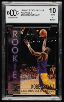 Kobe Bryant 1996-97 Stadium Club Rookies 2 #R9  (BCCG 10) at PristineAuction.com