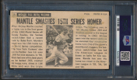 Mickey Mantle Signed 1964 Topps Giants #25 (PSA Encapsulated) at PristineAuction.com