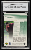 Tiger Woods 2001 Upper Deck #1 RC (BCCG 10) at PristineAuction.com