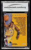 Kobe Bryant 1996-97 SkyBox Premium #203 ROO (BCCG 10) at PristineAuction.com