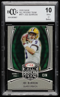 Joe Burrow 2020 SAGE All Rookie Team #RT1 (BCCG 10) at PristineAuction.com
