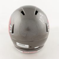 "Jamel Dean Signed Buccaneers Full-Size Speed Helmet Inscribed ""LV Champs!!"" (JSA COA) at PristineAuction.com"
