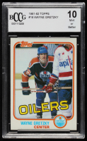Wayne Gretzky 1981-82 Topps #16 (BCCG 10) at PristineAuction.com