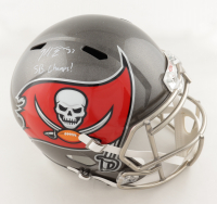 "Mike Edwards Signed Buccaneers Full-Size Helmet Inscribed ""SB Champs!"" (JSA COA) at PristineAuction.com"