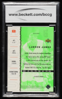 LeBron James 2003 Upper Deck Top Prospects LeBron James Promos #P3 (BCCG 10) at PristineAuction.com