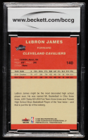 LeBron James 2004-05 Fleer Tradition #140 (BCCG 10) at PristineAuction.com