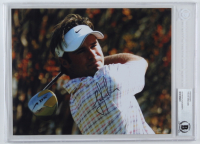 "Trevor Immelman Signed 2008 Masters 8x10 Photo Inscribed ""93"" (BGS Encapsulated) at PristineAuction.com"