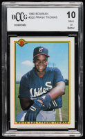 Frank Thomas 1990 Bowman #320 RC (BCCG 10) at PristineAuction.com