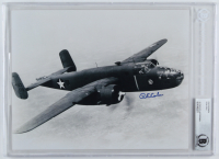 Richard E. Cole Signed Doolite Raid WWII 8x10 Photo (BGS Encapsulated) at PristineAuction.com