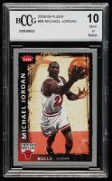 Michael Jordan 2008-09 Fleer #68 (BCCG 10) at PristineAuction.com