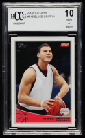 Blake Griffin 2009-10 Topps #316 RC (BCCG 10) at PristineAuction.com