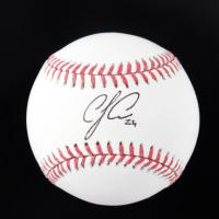 C. J. Cron Signed OML Baseball (JSA COA) at PristineAuction.com