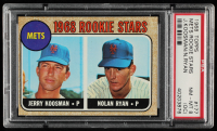 Jerry Koosman / Nolan Ryan 1968 Topps #177 Rookie Stars RC (PSA 8) (OC) at PristineAuction.com