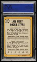 Jerry Koosman / Nolan Ryan 1968 Topps #177 Rookie Stars RC (PSA 8) (OC) at PristineAuction.com