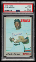Hank Aaron 1970 Topps #500 (PSA 8) (OC) at PristineAuction.com