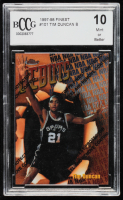 Tim Duncan 1997-98 Finest #101 B RC (BCCG 10) at PristineAuction.com