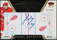 Pavel Datsyuk 2011-12 Crown Royale Scratching The Surface Signatures #37 at PristineAuction.com