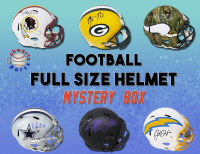 Schwartz Sports Full-Size Football Helmet Mystery Box Series 20 (Limited to 150) (See Description) at PristineAuction.com