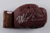 Mike Tyson Signed Vintage Jack Dempsey Everlast Boxing Glove with Display Case (PSA COA) at PristineAuction.com
