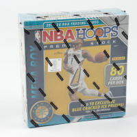 2019 / 20 Panini Hoops Premium Stock Basketball Mega Box with (80) Cards at PristineAuction.com