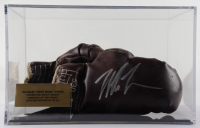 Mike Tyson Signed Vintage Pair of Boxing Gloves with Photo Display Case (PSA COA) at PristineAuction.com