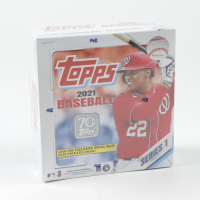 2021 Topps Series 1 Baseball Mega Box with (16) Packs (Cody Bellinger Highlights!) at PristineAuction.com
