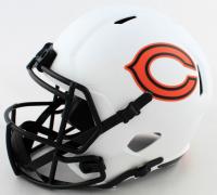 David Montgomery Signed Bears Full-Size Lunar Eclipse Alternate Speed Helmet (Beckett COA) (See Description) at PristineAuction.com