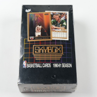 1990-91 Skybox Series 1 Basketball Wax Box of (36) Packs at PristineAuction.com
