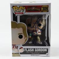 "Sam J. Jones Signed ""Flash Gordon"" #309 Flash Gordon Funko Pop! Vinyl Figure Inscribed ""Flash"" (JSA COA) at PristineAuction.com"