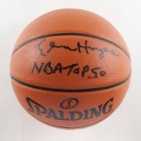 """Elvin Hayes Signed NBA Basketball Inscribed """"NBA Top 50"""" (Schwartz COA) at PristineAuction.com"""