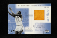 Michael Jordan 2001-02 Upper Deck Ovation MJ UNC Memorabilia #MJF1 Floor at PristineAuction.com