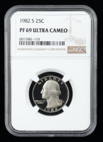 1982-S Washington 25¢ Quarter Dollar (NGC PF69 Ultra Cameo) at PristineAuction.com