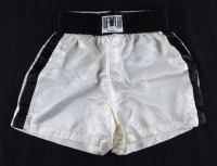 "Muhammad Ali Signed Tuf-Wear Boxing Trunks Inscribed ""AKA Cassius Clay"" (JSA LOA) at PristineAuction.com"