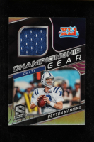 Peyton Manning 2020 Panini Spectra Championship Gear Materials #24 at PristineAuction.com