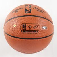 Magic Johnson Signed Lakers Logo NBA Game Ball Series Basketball (Schwartz Sports COA) at PristineAuction.com