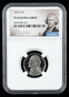 1992-S Jefferson Nickel (NGC PF69 Ultra Cameo) at PristineAuction.com