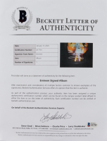 "Eminem Signed LE ""Slim Shady"" 7"" Vinyl Record (Beckett LOA) at PristineAuction.com"